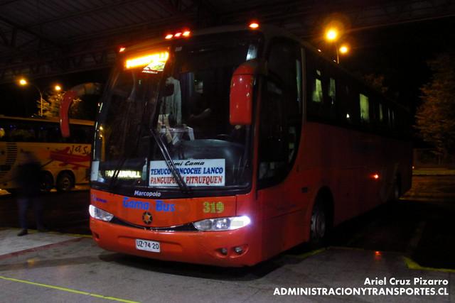 Gama Bus - Temuco - Marcopolo Viaggio 1050 / Scania (UZ7420)