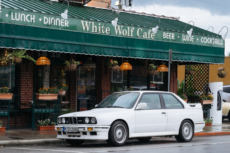 White M3 in the wild