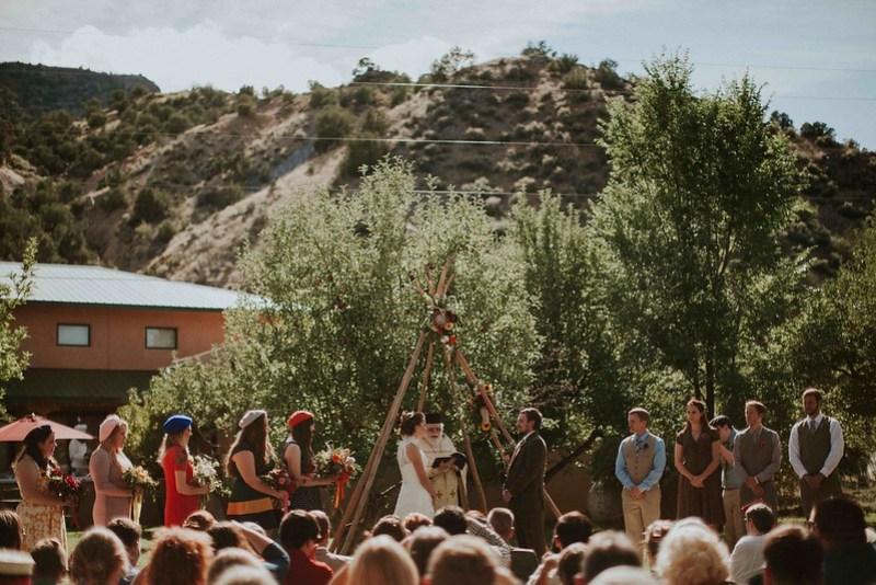Moonrise Kingdom wedding as seen on @offbeatbride