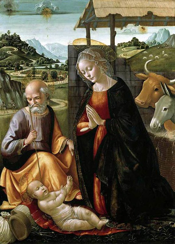Ghirlandaio - Nativity