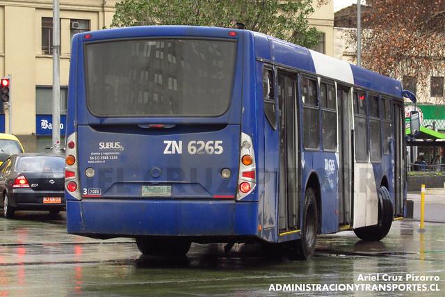 Transantiago - Subus Chile - Caio Mondego L / Volvo (ZN6265)