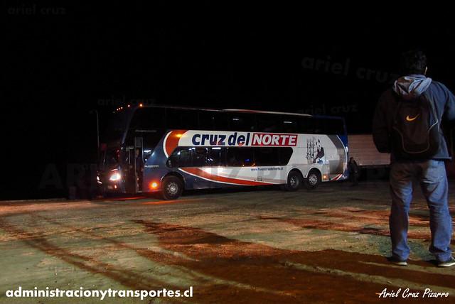 Cruz del Norte - Aduana El Loa - Busscar Panorâmico DD / Volvo (BHXY77)