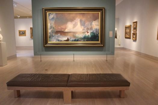 Frederic Edwin Church, The Icebergs, Dallas Museum of Art