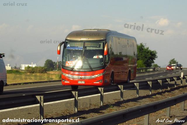 Pullman Bus Costa Central - Malloco - Marcopolo Viaggio 1050 / Mercedes Benz (DJDH19) (306a)