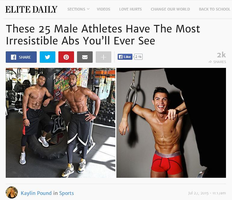 25 male athletes