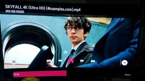 ตัว Official Trailer ของ 007 Skyfall บน LG 65EG960T OLED TV