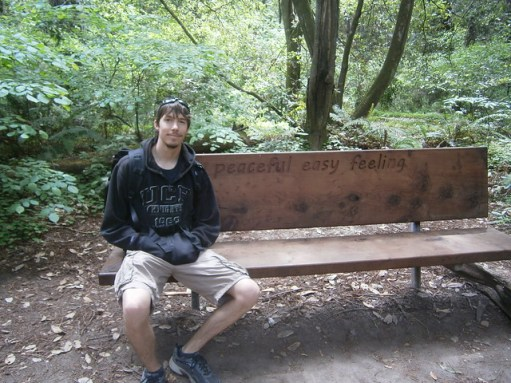 Bench at Nisene Marks
