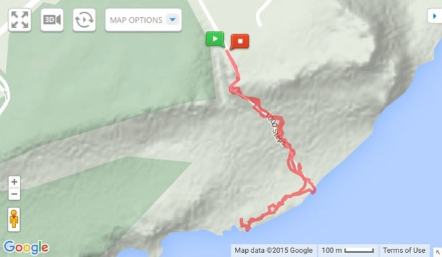 Taguan Trail Topo Map