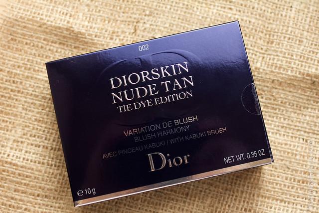 01 Dior Diorskin Nude Tan Tie Dye Edition Blush Harmony #002 Coral Sunset