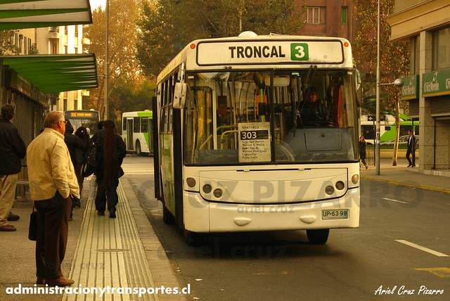 Transantiago - Buses Gran Santiago - Neobus Mega / Mercedes Benz (UP6399)