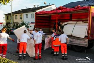 Vorbereitungen Flüchtlingsunterkünfte 13.09.15
