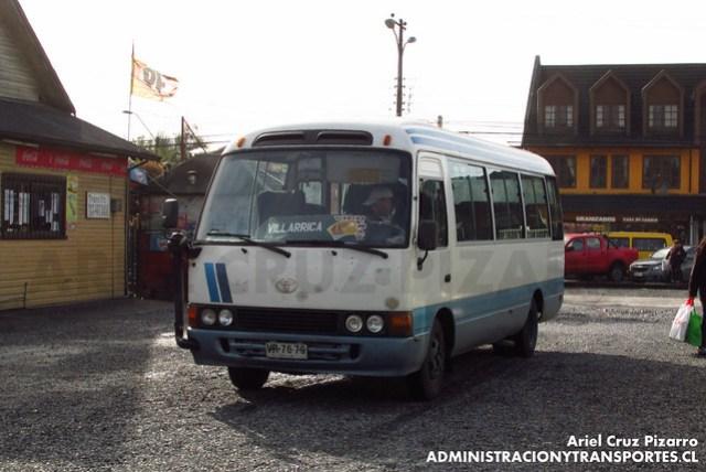 Buses Vipu-ray - Villarrica - Toyota Hiace (VR7679)