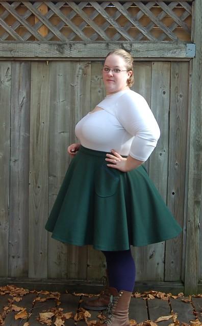 Simplicity 1812 / Cake Pavlova skirt