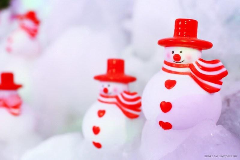 微笑的雪人(smiling snowman)