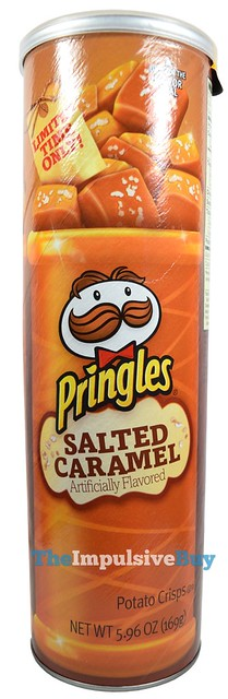Limited Time Only Salted Caramel Pringles