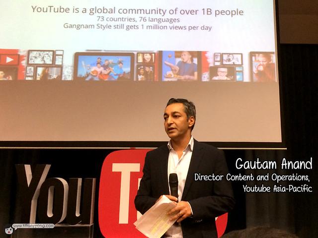 Youtube Fanfest Singapore Gautam Anand