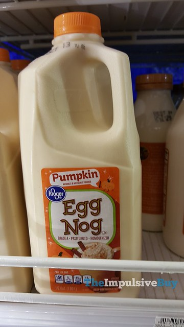 Kroger Pumpkin Egg Nog