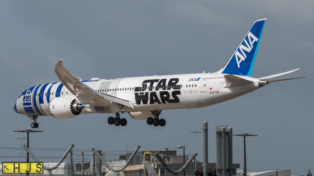 All Nippon Airways R2D2 Star Wars