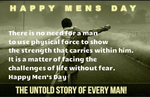 Happy Mens Day 2018 Wishes Messages Quotes Images Status