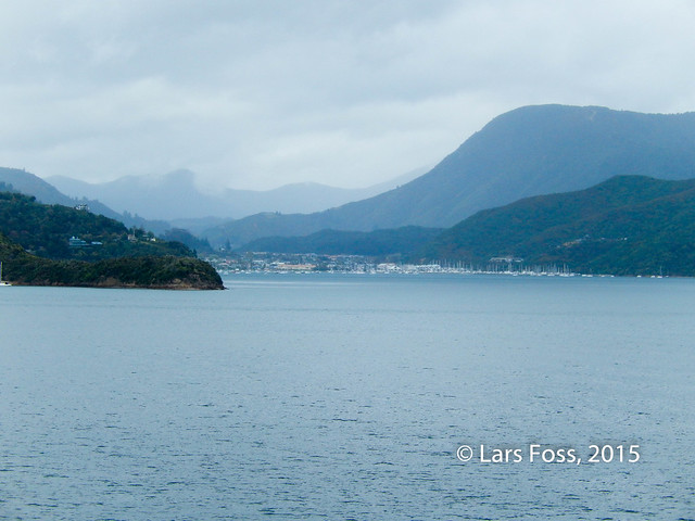 Picton from the sea