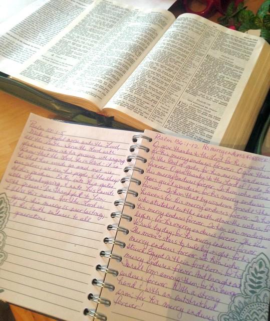 my scripture journal