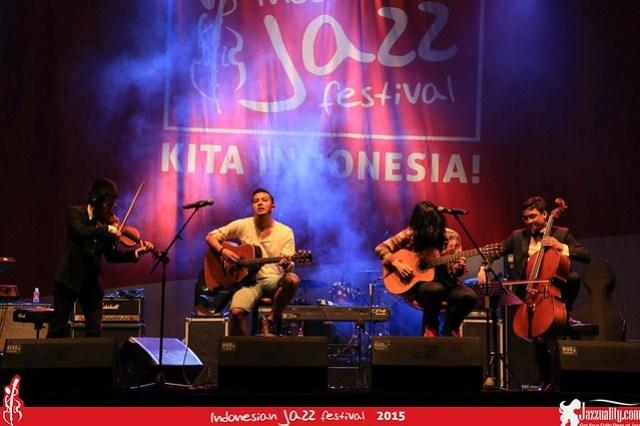 Indonesian Jazz Festival 2015 - sketsa (2)