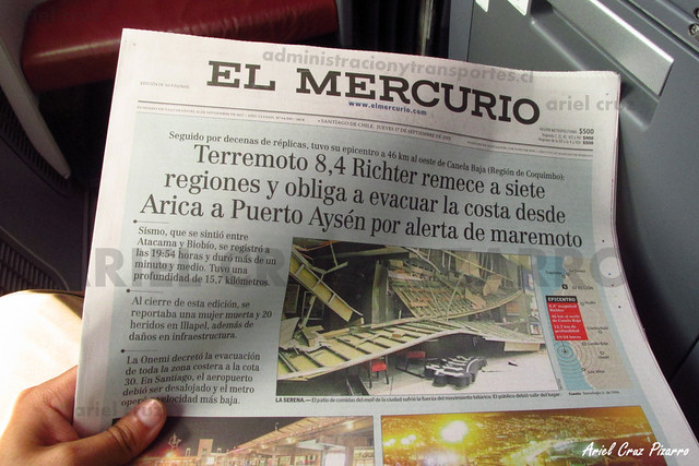 Diario El Mercurio - LAN Airlines - Premium Business