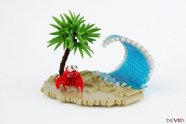 Run Crab, run!