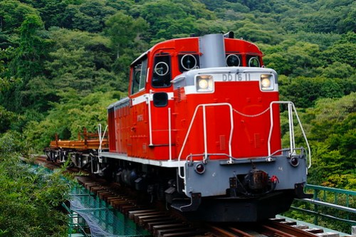 DD16-11 Rail transportation train for Nobeyama Sta.