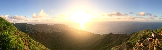 Koko Crater Sunrise