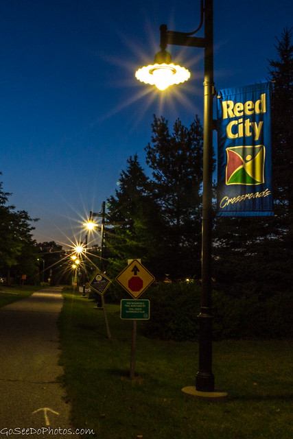 Reed City at Blue Hour
