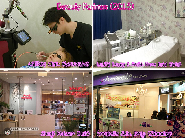 Tiffany Yong Beauty Sponsors