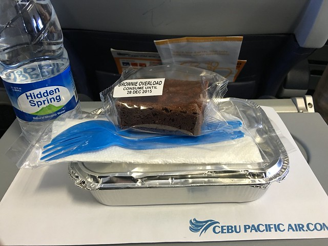Cebu Pacific in flight meal