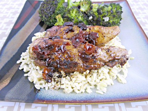 Balsamic Grilled Chicken with Spicy Honey Bacon Glaze 3