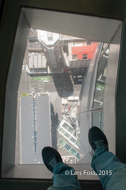 Floor Window in Sky Tower