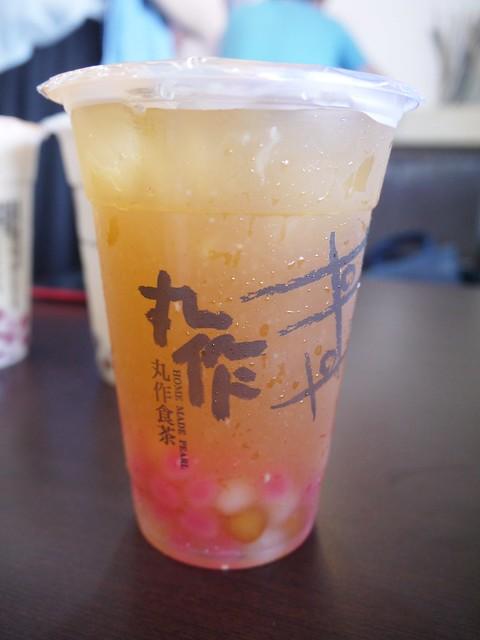 【臺南~食】手作珍珠專家。 阿薩姆珍珠鮮奶茶 nt$50元。丸作食茶 @ 朵兒愛玩樂 :: 痞客邦