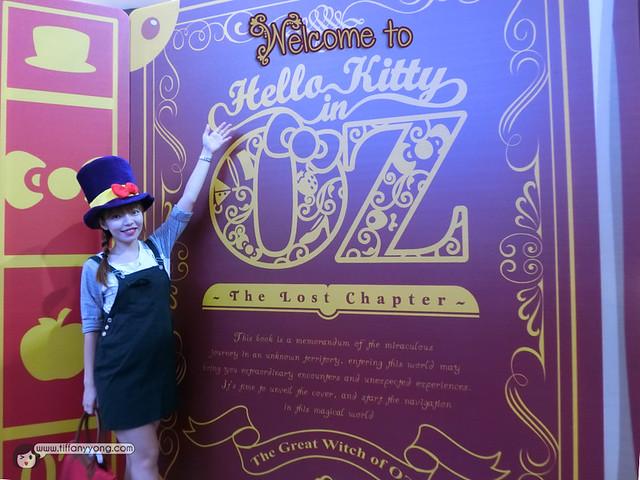 Hello Kitty in Oz Tiffany Yong