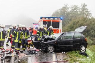Verkehrsunfall B260 Wambacher Stich 16.09.15