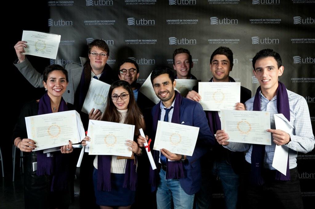 Portraits - Remise des diplômes de l'UTBM 2016