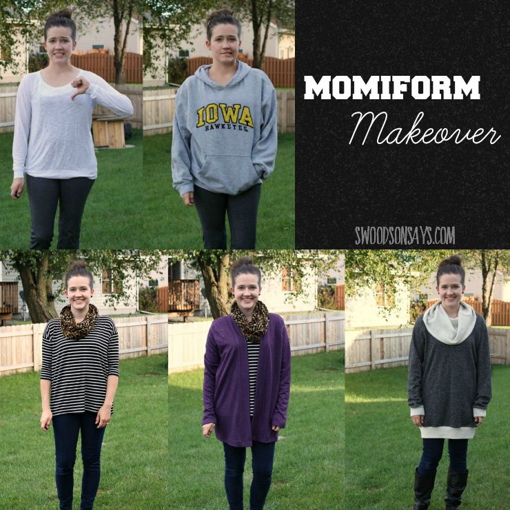 Momiform Makeover with PDF Patterns
