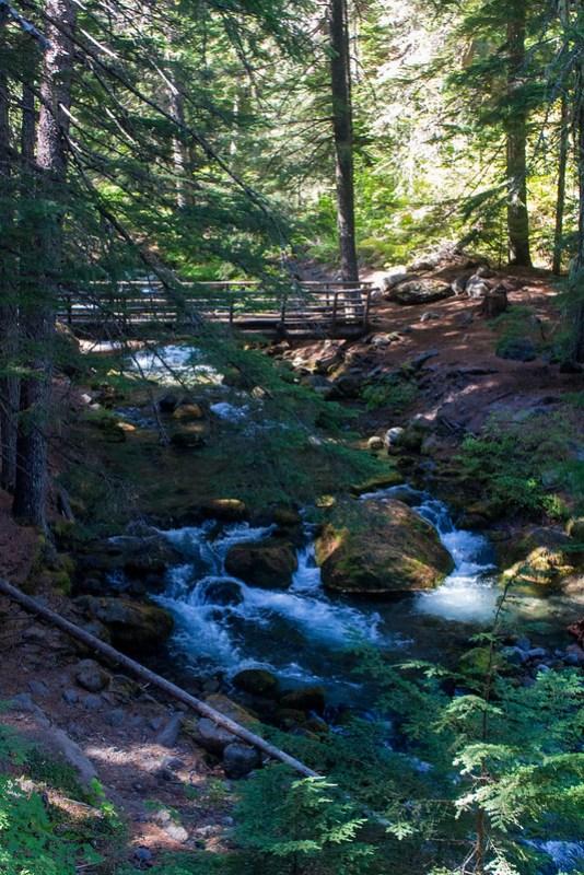 Mt Hood. Tamanawas Falls hike