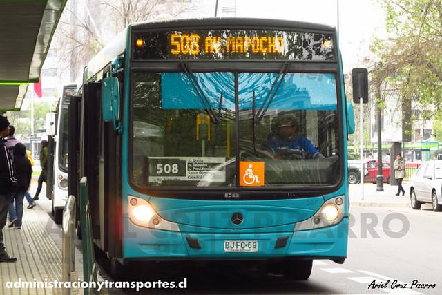 Transantiago - Metbus - Caio Mondego HA / Mercedes Benz (BJFC69)