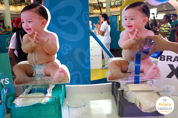 pampers baby dry challenge