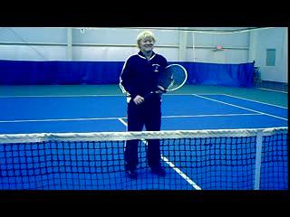 tennis overhead shot