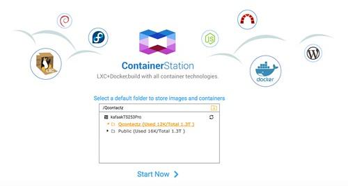 เริ่มใช้งาน Container Station ก่อน