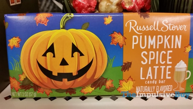 Russell Stover Pumpkin Spice Latte Candy Bar