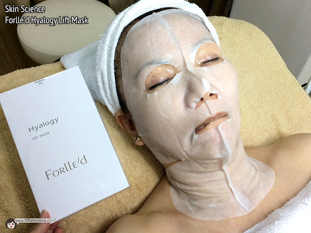 Skin Science Forlled Hyalogy Lift Mask