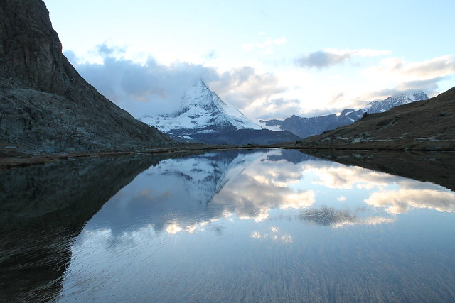 matterhorn reflection riffelsee zermatt