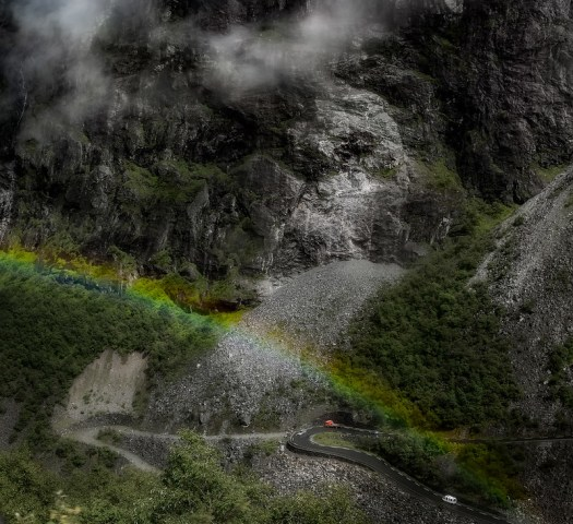 Regnbåge Trollstigen