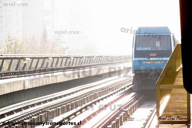 Metro de Santiago - Alstom NS93 N2069 - Mirador (L5)